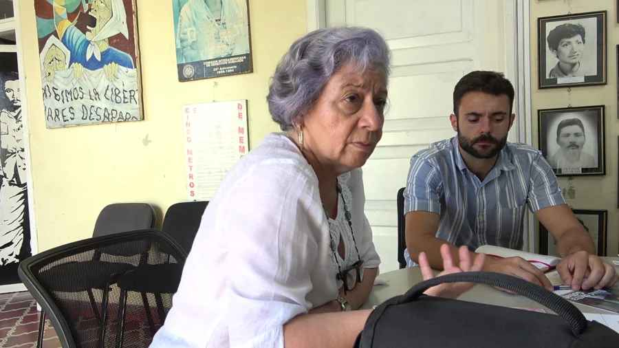 Interview with Bertha Oliva de Nativí of Committee of Relatives of the Disappeared in Honduras (COFADEH)